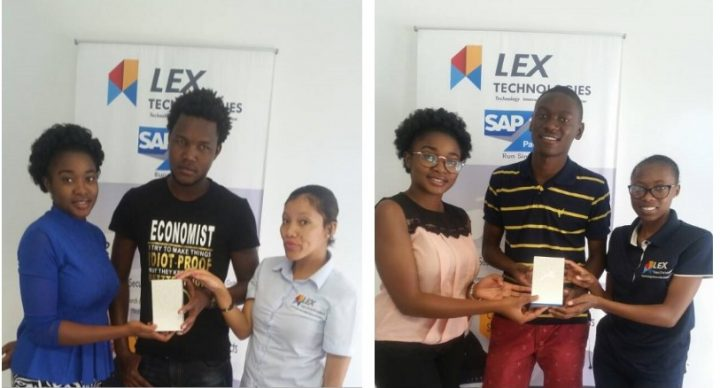 Winners for the Jolla SMS Competition.